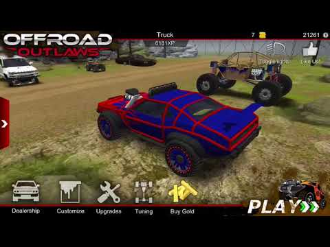OFFROAD OUTLAWS 2.0 NEW SECRET CAR IN WOODLANDS!!!!