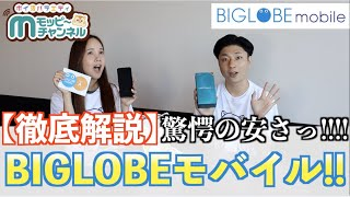 【格安SIM】BIGLOBEモバイルでスマホ代が衝撃の安さに!?【徹底解説】