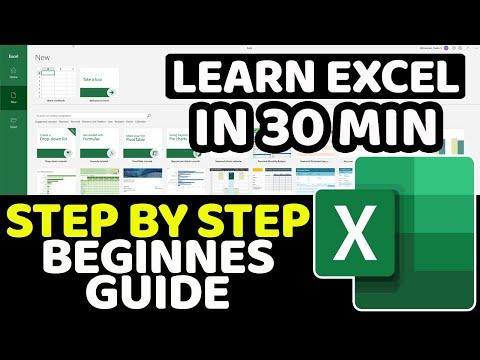 Excel Basics Tutorial for Beginners