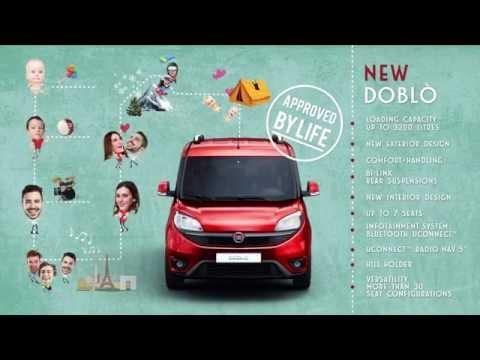 Fiat  Doblo Минивен класса M - рекламное видео 2