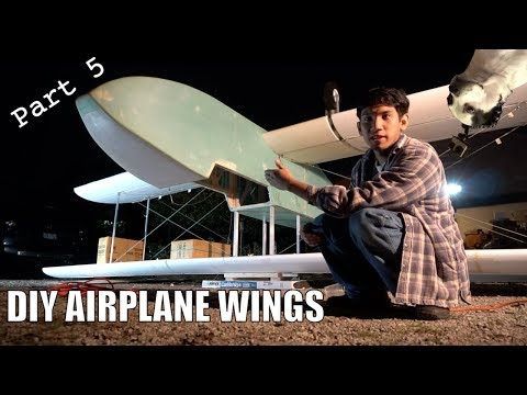DIY Electric ultralight pt5 (Making the Wings)