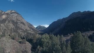 Cinematic flight FPV. Near Ouray, Colorado. Insta360 SMO 4K.