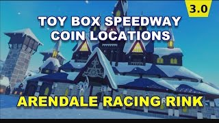 Toy Box Speedway Arendale Racing Rink Coin Locations