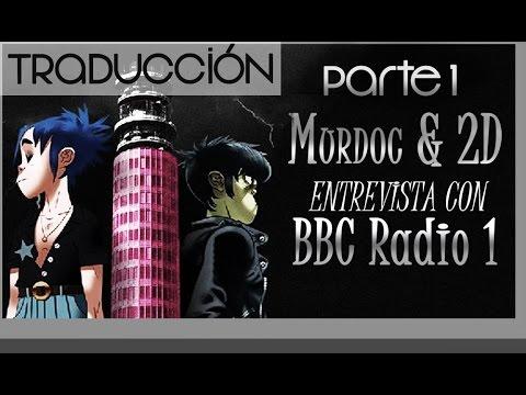 [ESPAÑOL] In conversation with 2D & Murdoc from Gorillaz - Parte 1