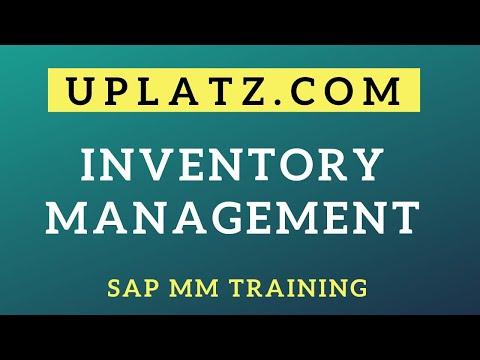 Inventory Management | SAP MM Training | SAP Inventory ...