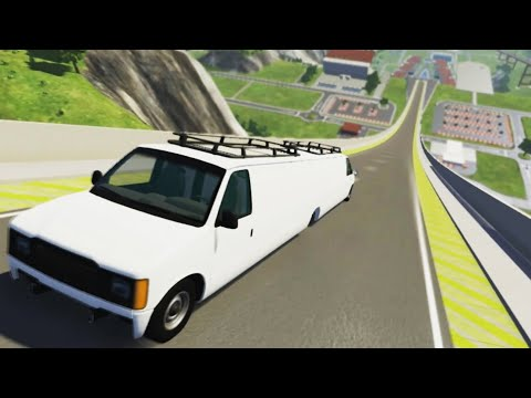 High speed freaky jumps #1 - Beamng.Drive