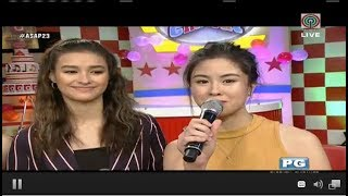 Touching Message Of Kisses Delavin To Sarah Geronimo L RARE VIDEO