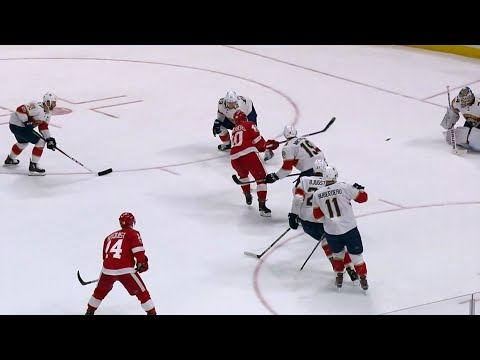 Gotta See It: Zetterberg tears through all six Panthers to end 23-game goal drought