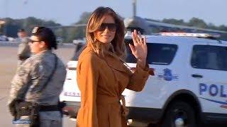 First Lady Melania Trump departs Washington, D.C, en route to Kenya, Ghana, Malawi and Egypt  Octobe
