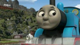 Thomas y sus amigos en Español, Capítulo: Colgado de ti