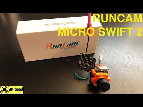 Runcam Micro Swift 2 Unbox - Courtesy of Banggood