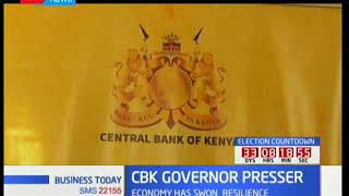 CBK governor, Patrick Njoroge on state of economy