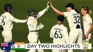 Lightning strikes Aussie fightback after Mandhana ton | Australia v India 2021