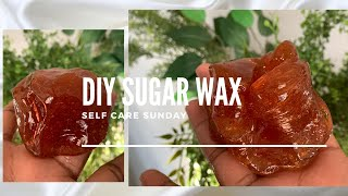HOW TO: DIY SUGAR WAX RECIPE FOR BEGINNERS 🍯