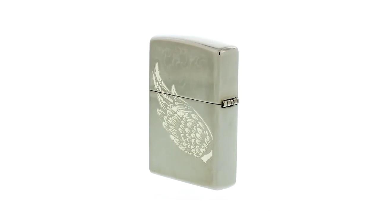 Зажигалка ZIPPO 150 Filigree Flame and Wing Design 29881