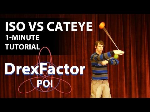How To Do Isolation Vs Cateye For Poi: 1-minute Tutorial