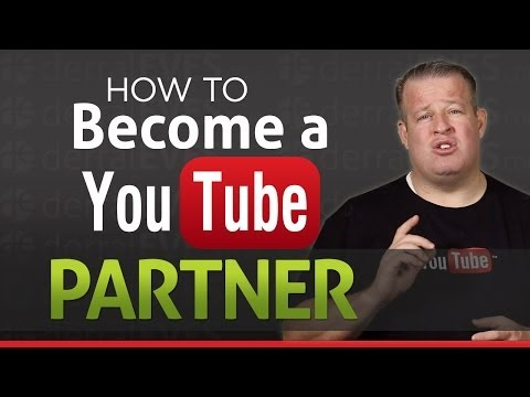 Video How to Become a Youtube Partner