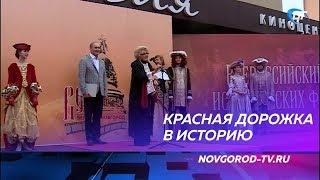 Церемонию открытия фестиваля исторических фильмов «Вече» провели Елена Захарова и Евгений Сидихин