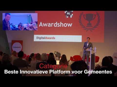 Droom van Nederland - Beste Innovatieve Online Platform voor Gemeentes - Digital Awards 2018
