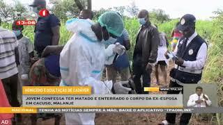 Jovem confessa ter morto e enterrado o corpo da ex-exposa em Cacuso, Malanje