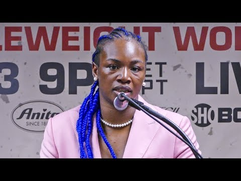 Claressa Shields POST FIGHT PRESS CONFERENCE vs. Christina Hammer