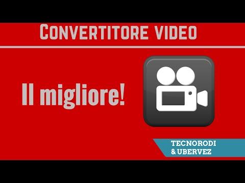 Il migliore convertitore video (GRATIS!)