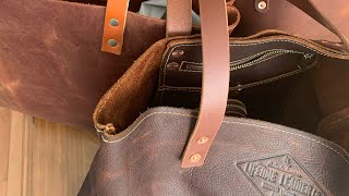 Full Grain Leather Series: Portland Leather Goods & Lifetime Leather Co Totes