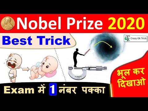 Nobel Prize 2020 | Nobel Trick | Nobel Prize Winners 2020 | Nobel 2020 Trick - CrazyGkTrick