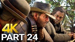 Red Dead Redemption 2 PC Gameplay Walkthrough Part 24 - RDR2 PC 4K 60fps