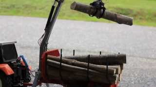 preview picture of video 'RC Rückewagen mit Ladekran'