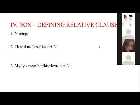 Tiếng anh 11 - Lý thuyết về mệnh đề