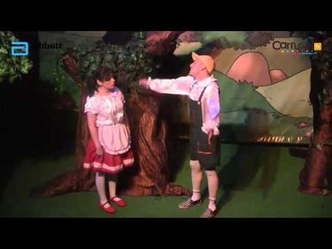 Obra de teatro Hansel y Gretel teatro El Árbol