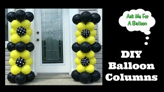 DIY Balloon Columns