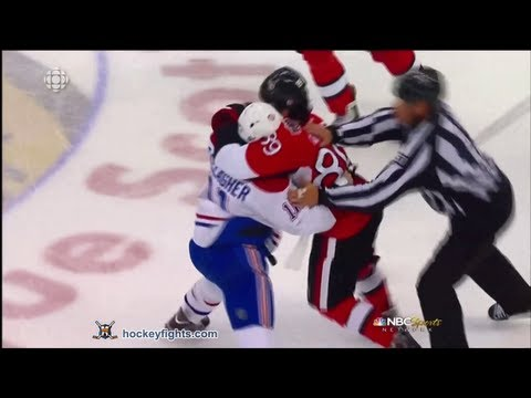 Brendan Gallagher vs Cory Conacher