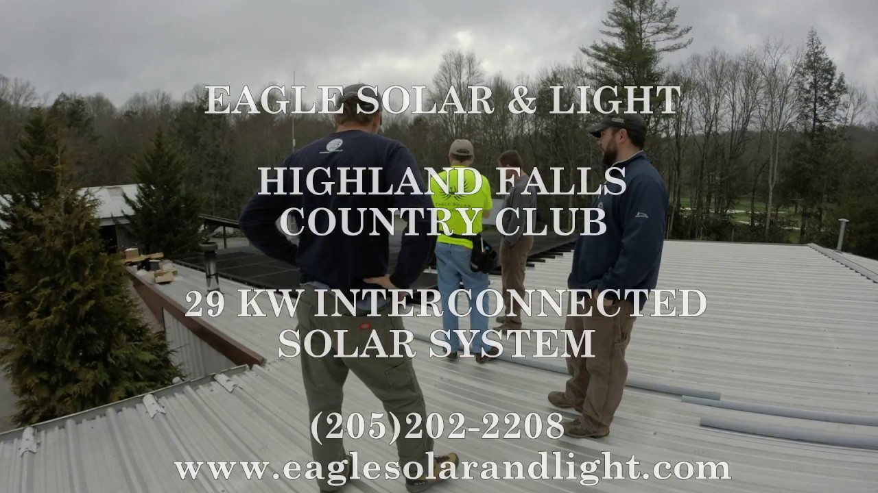 Highland Falls Country Club Time Lapse Solar