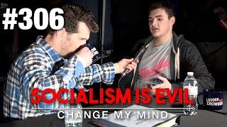 Socialism is Evil | Change My Mind