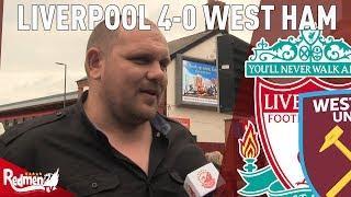 'Naby Keita Is Amazing!'   Liverpool 4-0 West Ham   West Ham Fan TV Reaction