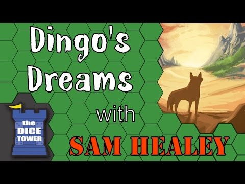 Dingo's Dreams -  A Dice Tower Review with Sam Healey