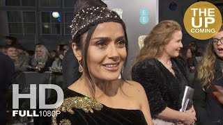 Salma Hayek on Roma, Mexican directors, living in London, presenting Best Director at BAFTAs 2019