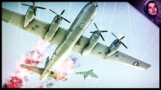 NEVER GIVE UP! || B29 Formation Flying (War Thunder Gameplay)