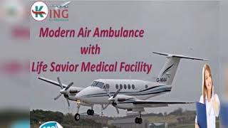 Take Fast ICU Facility Air Ambulance Service in Guwahati
