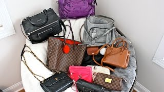 2015 Handbag Collection + Mod Shots! (LV, Balenciaga, Rebecca Minkoff, & More!)