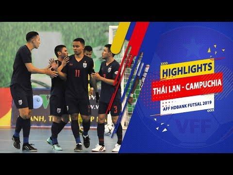 Highlights | Thái Lan - Campuchia | AFF HDBank Futsal Championship 2019