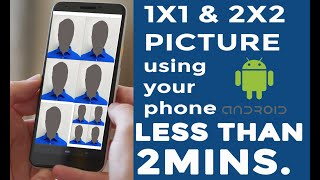 How to make 2x2 picture in phone