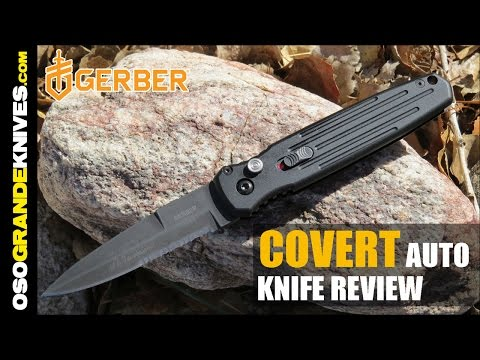 Gerber Covert Auto Knife Review | OsoGrandeKnives