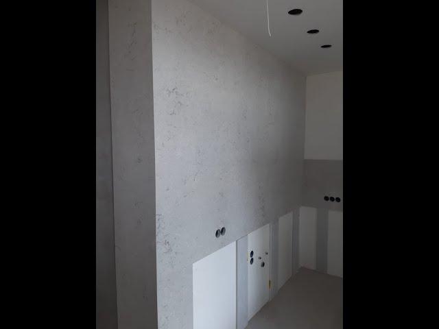 Стеновые панели из кварцевого агломерата Caesarstone 6131 Bianco Drift