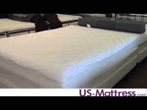Sealy Posturepedic Sure Elegance Mattress Pad by Pacific Coast Feather