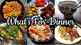 WHAT'S FOR DINNER || TRYING SIPS BY, YOUTUBER MEALS, PINTEREST RECIPES