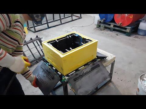 Изготовление ульев из ППУ для своей пасеки. Промышленное пчеловодство. Пасека Буржуя. CRASH тест