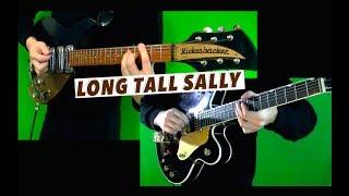 Long Tall Sally - Lead and Rhythm Guitar Cover - Both Guitar Solos
